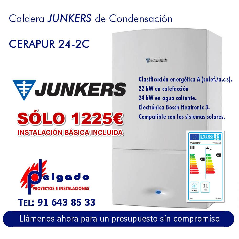 OFERTA caldera Junker cerapur 24-2c