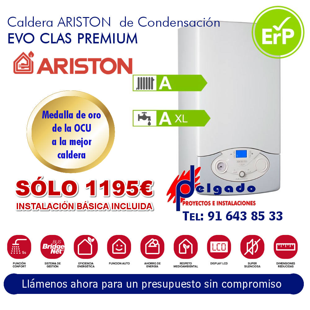 OFERTA ARISTON EVO PLUS PRENIUM